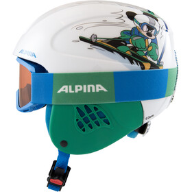 Alpina Carat Set Disney Casco Bambino, Mickey Mouse